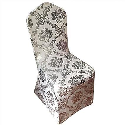 Tremendous Amazon Com Sinssowl 10Pc Bronzing Chair Cover Elastic Beatyapartments Chair Design Images Beatyapartmentscom