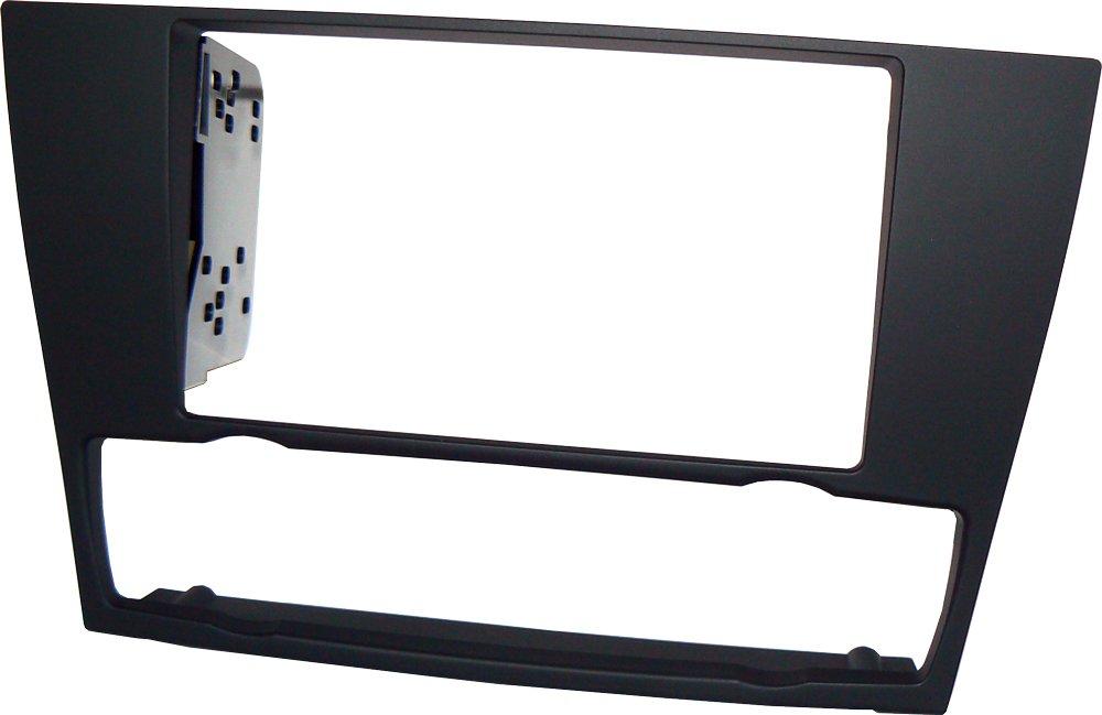 Mascherina autoradio in kit di montaggio 2 DIN con staffe fissaggio stereo doppio din. Master Line