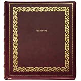 Library Leather Album Pers