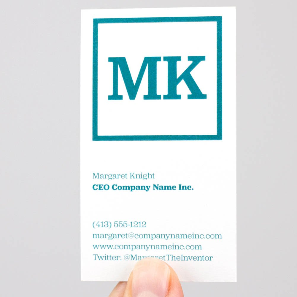 Buttonsmith Custom Ultra Thick Printed Business Cards - 3.5''x2'' - Quantity 500 - Double-Sided, 32 pt Smooth Touch - Made in The USA by Buttonsmith (Image #6)