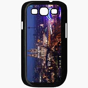 Unique Design Fashion Protective Back Cover For Samsung Galaxy S3 Case Koln Disco Cologne Black