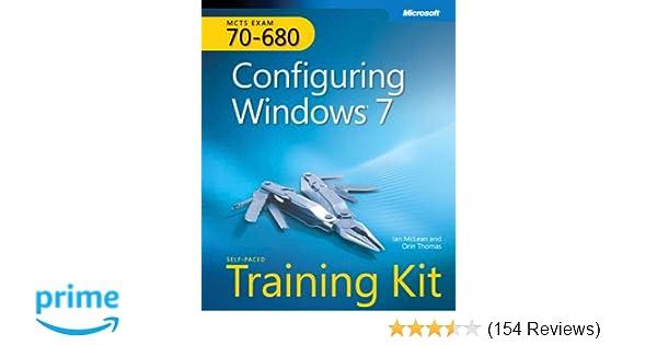 self paced training kit exam 70 680 configuring windows 7 mcts rh amazon com Nursing Lab Duke Lab Manual