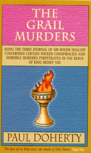 book cover of The Grail Murders