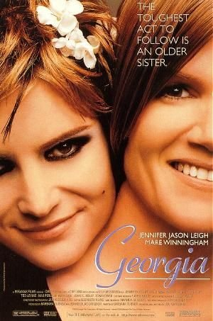 GEORGIA (1995) Indigenous Authentic Movie Poster 27x40 - ROLLED - Single-Sided - Jennifer Jason Leigh - Mare Winningham - Ted Levine - Max Perlich