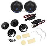 Pair Rockville RT6 240 Watt Car 1'' Silk Dome Neo Swivel Tweeters+Crossovers