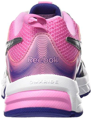 Corsa Rosa Donna Da 0 Viola Run 4 Scarpe Pheehan Reebok Bianco YHq46fZ