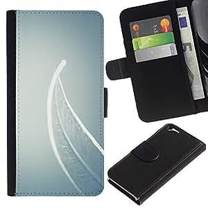 Be Good Phone Accessory // Caso del tirón Billetera de Cuero Titular de la tarjeta Carcasa Funda de Protección para Apple Iphone 6 4.7 // Meaning Deep Grey Gray