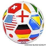 RIN001 1PC, 9'' REGULATION FLAG SOCCER BALL