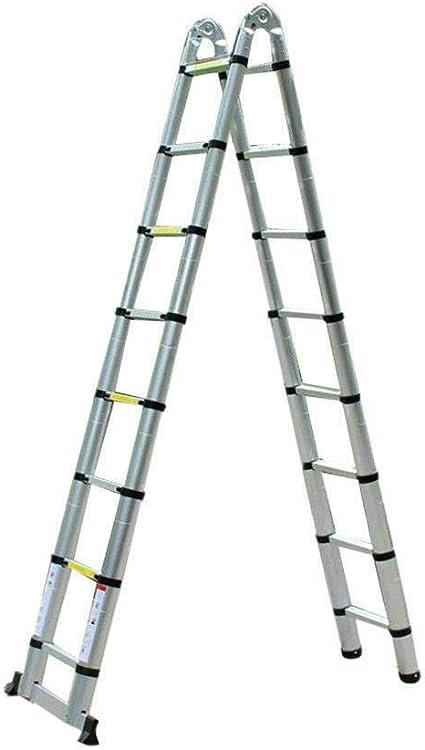 Ladder /Échelle /Échelle T/élescopique /Échelle Multifonctionnelle En Aluminium /Échelle Portable /Étendue /Échelle Pliante /Échelle Standard,1,4 M