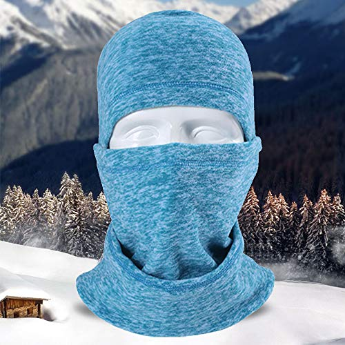 LUCKSTAR Motorcycle Mask - Ski Face Mask Motorcycle Cycling Bike Bandana Hiking Skateboard Balaclava Face Mask Motorcycle Bicycle Bike Full Face Mask Hood Hat Helmet Liner for Riding Skiing (Green)