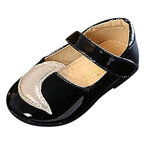 Zapatos de Vestir para Bebé Niñas Otoño Invierno 2018 Moda PAOLIAN Zapatos Botines de Charol Suela