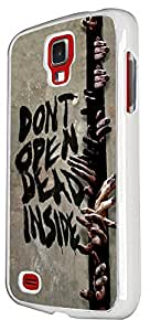 Walking Dead Zombie Hands Fun Scary Design Samsung Galaxy S4 i9500 Fashion Trend Cool Case Back Cover Plastic/Metal