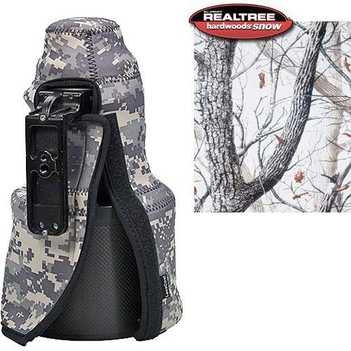 LensCoat TC300VRSN TravelCoat Nikon 300 VR Lens Cover (Realtree AP Snow) by LensCoat