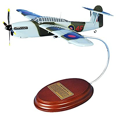 Mastercraft Collection Fairey Aviation Barracuda British Torpedo Dive Bomber World War II German battleship Tirpitz Fighter Plane Aircraft Airplane Model Scale:1/49