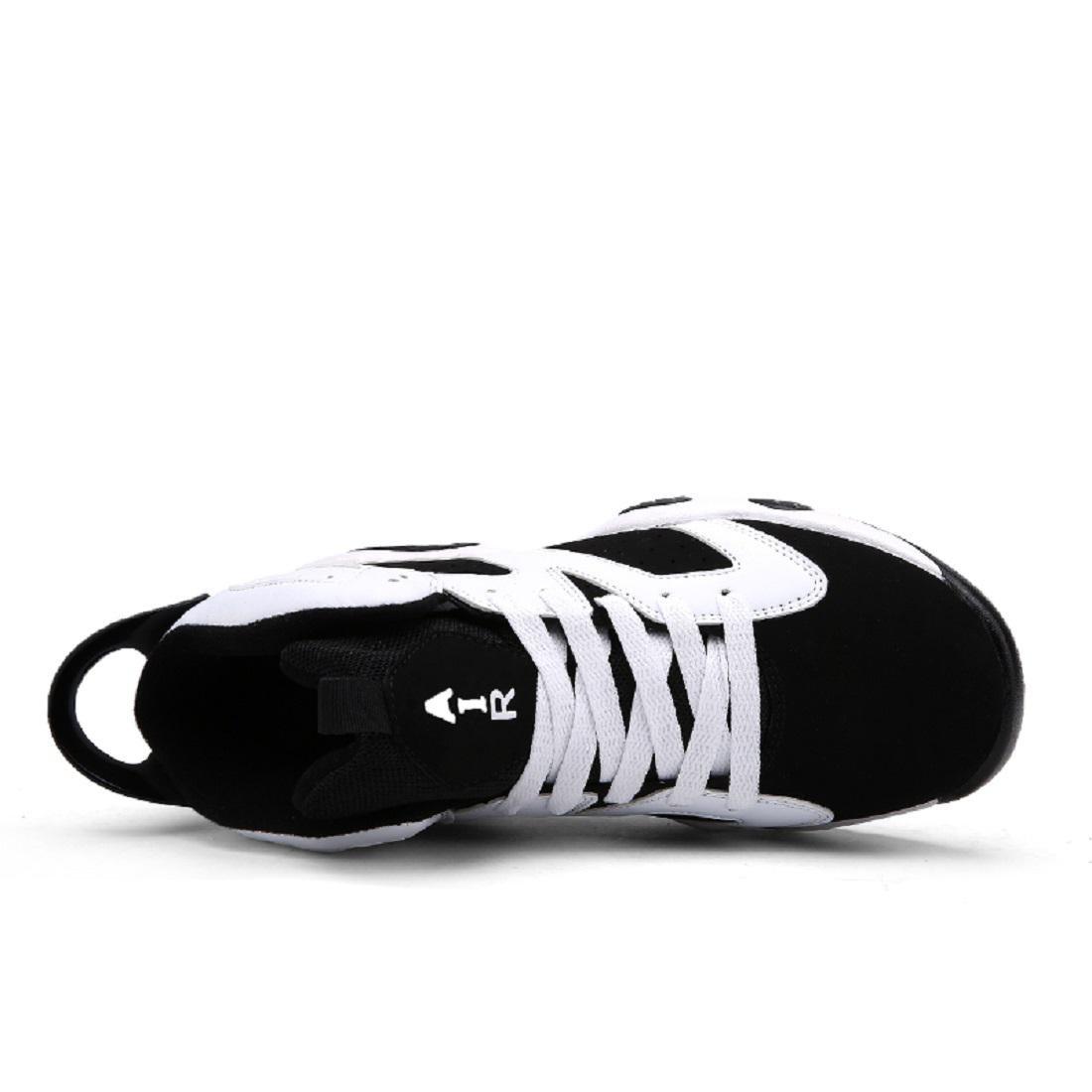 Hombres Zapatos deportivos deportivos deportivos Formación Respirable Aumentado Zapatos de basquetbol Zapatillas Entrenadores , Blanco , 36 f77f62