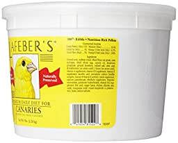 Lafeber Company Canary Pellets Premium Daily Diet Pet Food, 5-Pound