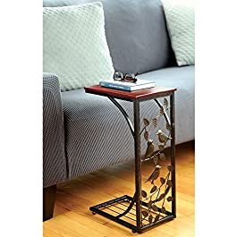 TravenPal Sofa Side Table Bird Design