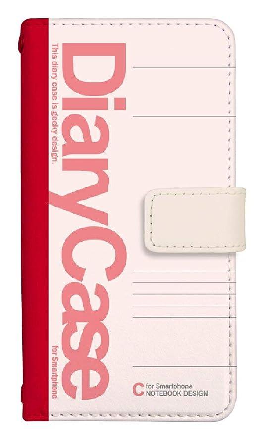 b19b4b713c スマホケース 手帳型 アイフォン6ケース 8056-A. 大学ノートピンク iphone6ケース 手帳