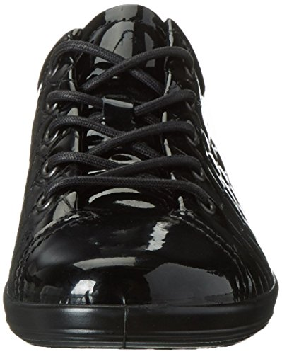 0 Soft Basse Nero 51052 Donna Stringate 2 Scarpe ECCO Black wUdqEAw
