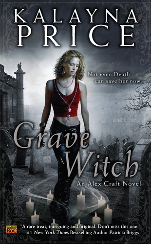 book cover of Grave Witch