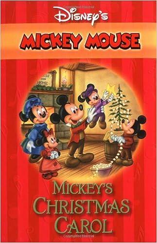 Mickeys Christmas Carol Book.Mickey S Christmas Carol Disney S Mickey Mouse