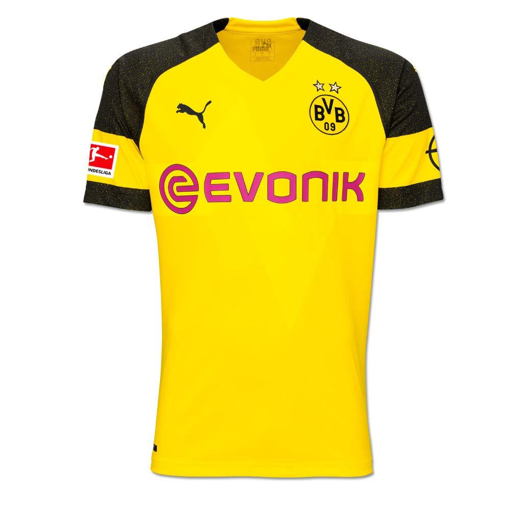 Puma - Maglia del Borussia Dortmund con Logo della della della Bundesliga 2018 2019, da Uomo, con Nome del Giocatore, Zagadou, 152 | 2019 Nuovo  | Colore Brillantezza  | Vinci molto apprezzato  | Materiali Accuratamente Selezionati  81a3f3