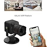 Sodoop [New WiFi 50 Times Remote Digital Manual Zoom Intelligent Surveillance Telescope DVR,Portable Voice Intercom Two-Way Mini Monitoring Camera