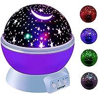 Lazaga Constellation night light, Romantic Room Lamp 360...