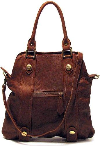 Floto Luggage Bolotana Handbag, Brown, Medium by Floto
