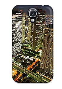 For Galaxy S4 Tpu Phone Case Cover(tokyo City )