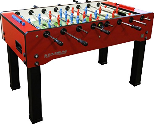 Italian Foosball Table Stadium Indoor Soccer Table Red Buy - Italian foosball table