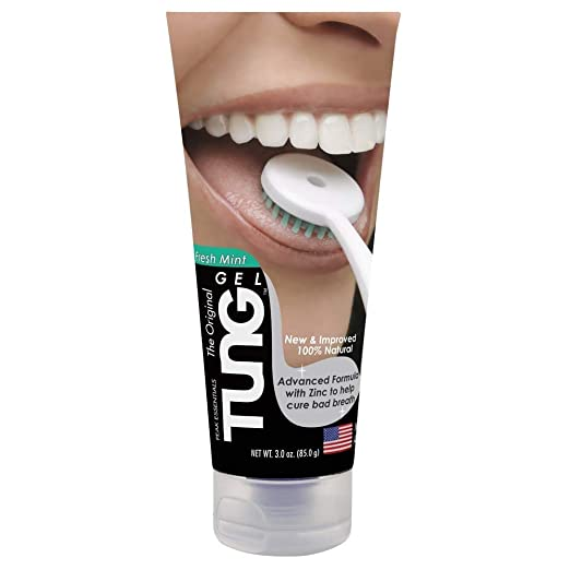 Peak Essentials The Original TUNG Gel - Tongue Cleaner - Fresh Mint Breath Fresheners at amazon