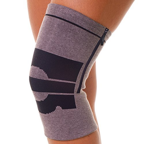 magnetic-bamboo-zippered-knee-brace-gentle-compression-support-pain-relief
