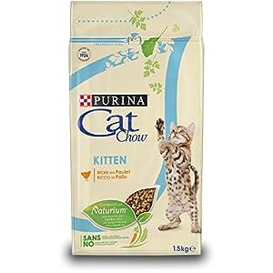 Purina Cat Chow Comida Seco para GatitosRico en Pollo – 1.5 Kg
