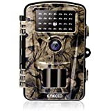 ENKEEO PH700A Trail Camera 1080P 12MP HD Game Camera Wildlife Hunting Motion Activated Cams 940nm Night Vision IR LEDs, IP66 Waterproof Design, 0.2s Trigger Time, Time Lapse 2.4 LCD Screen