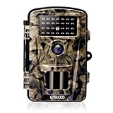 ENKEEO PH700A Trail Camera 1080P 12MP HD Game Camera Wildlife Hunting Motion Activated Cams with IP66 Waterproof Design, 940nm Night Vision IR LEDs, 0.2s Trigger Time, Time Lapse and 2.4'' LCD Screen