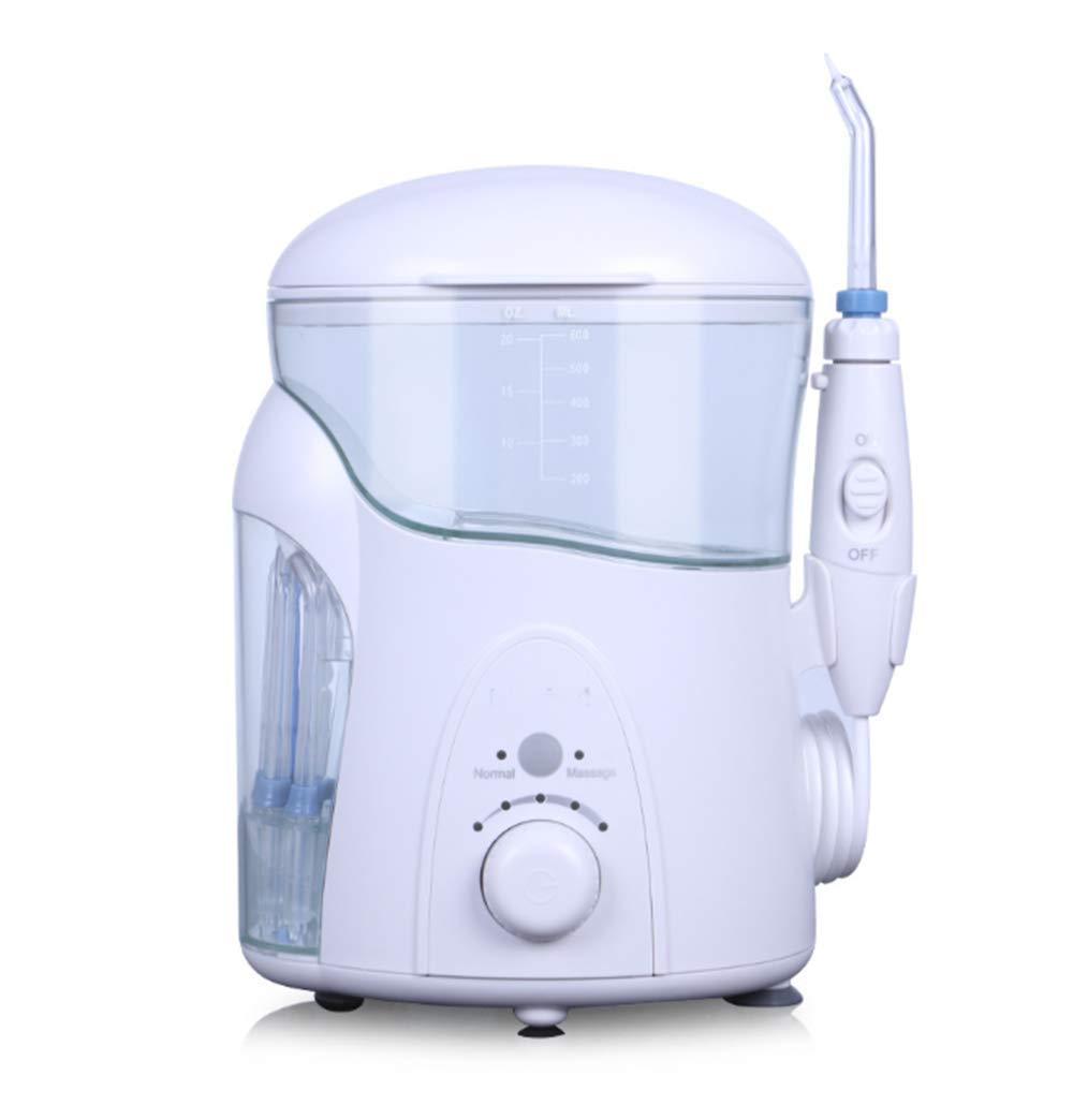 7 Heads USB Charging Water Flosser Power Floss,Electric Nasal Sinus Irrigation, Portable Oral Irrigator for Teeth Nasal Sinus of Family by DELOVE (Image #2)