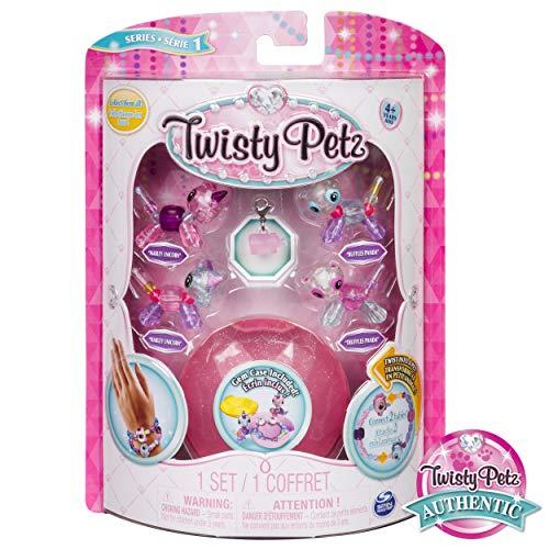 Twisty Petz Babies Collectible Bracelet Set, Unicorns & Pandas 4-Pack -