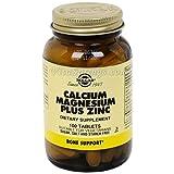 Calcium Magnesium Plus Zinc 100 Tabs 2-Pack