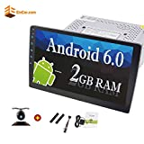 10.1 Inch 2GB EinCar Android 6.0 System Car Stereo Double Din In Dash Car Headunit GPS Navigation with Bluetooth Wifi AM/FM Radio Subwoofer Video out Touchscreen + Free Backup Camera