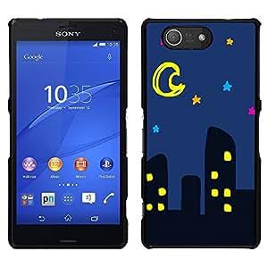 Dragon Case - FOR Sony Xperia Z3 Compact - I do love lines - Caja protectora de pl??stico duro de la cubierta Dise?¡Ào Slim Fit
