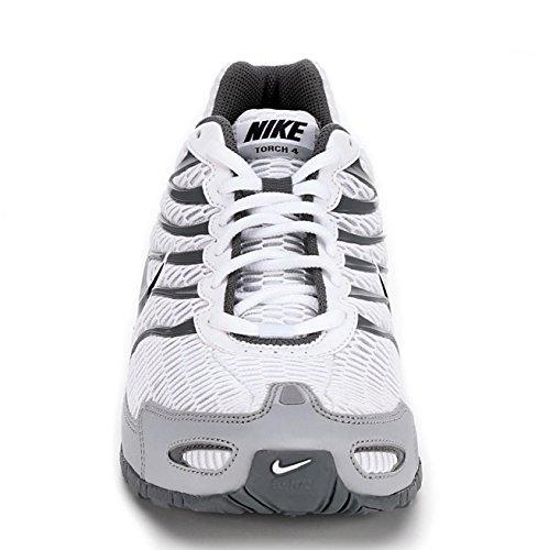 Nike Men's Air Max Torch 4, White/Anthracite-Wolf Grey White, Grey
