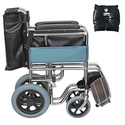 KHL Attendant Wheelchair-F12 (Steel, Dwk611)