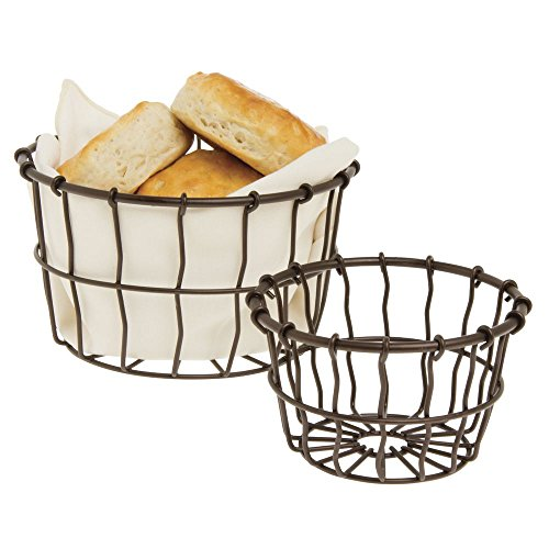 American Metalcraft Bronze Wire Serving Basket 7Dia x 4 1/4H by American Metalcraft (Image #1)