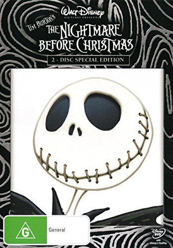 The Nightmare Before Christmas DVD Henry Selick Nightmare Before Christmas
