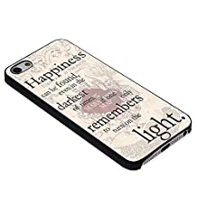 Harry Potter Happiness Quote for Iphone Case (iPhone 5/5s black)