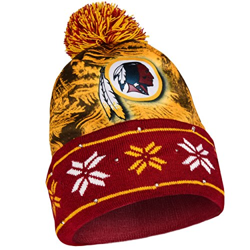 NFL Washington Redskins Light Up Knit Hat ()