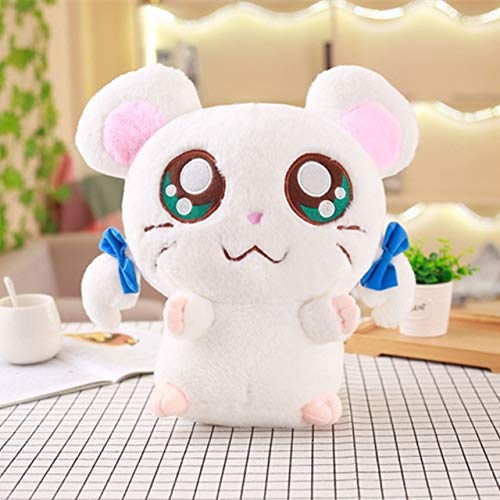 Stuffed & Plush Animals - 1pc 40cm Cute Hamster Mouse Plush Toy Stuffed Soft Animal Hamtaro Pilloq Kawaii Birthday Gift for Children Lovely Kids Baby Doll - Toys Gifts Girls -