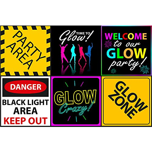 Neon Light Theme (Glow Party Sign 6