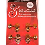 Grover, 708G, Sta-Tite 14:1 Dulcimer Peg Tuner/Machine, Gold Finish